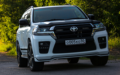 Фендер для Toyota Land Cruiser 200 купить